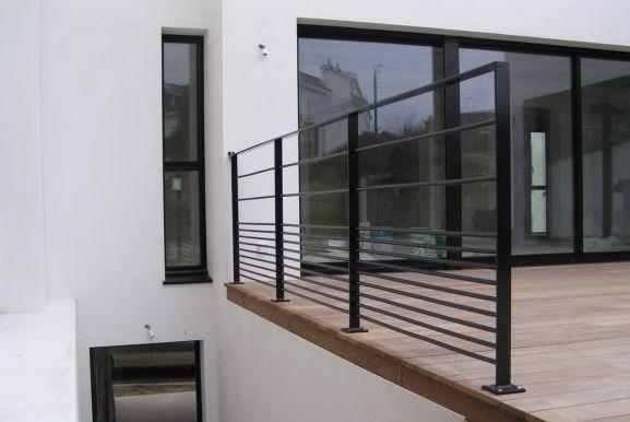garde corps aps alu. Black Bedroom Furniture Sets. Home Design Ideas